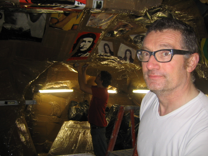 Thomas Hirschhorn. Photo: Paul Schmelzer