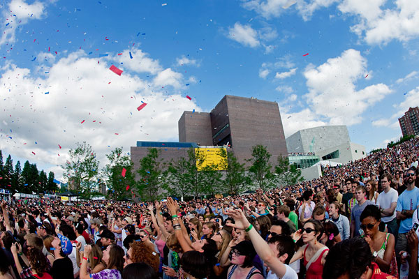 Confetti!  Photo: Cameron Wittig