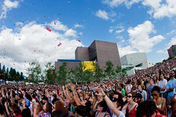 Confetti!  Photo: Cameron Wittig