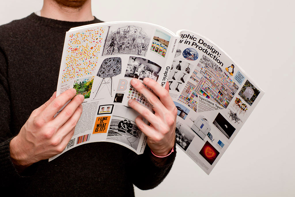 Exhibition catalogue for Graphic Design: Now In Production