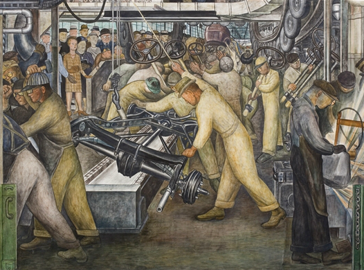 Diego Rivera, Detroit Industry, South Wall, 1932-1933
