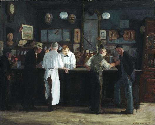 John Sloan, McSorley's Bar