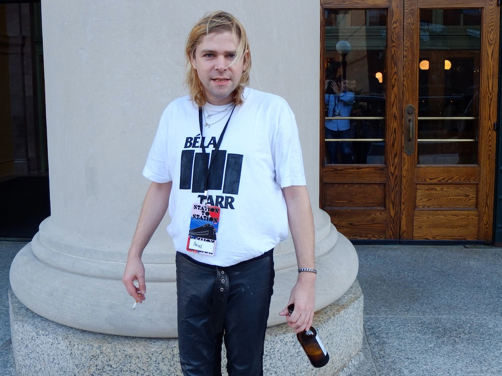Ariel Pink, who later performed on the Station to Station stage.