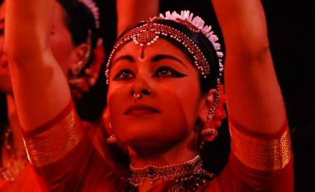 Ragamala Dance Company. Photo by Bonnie Jean MacKay.