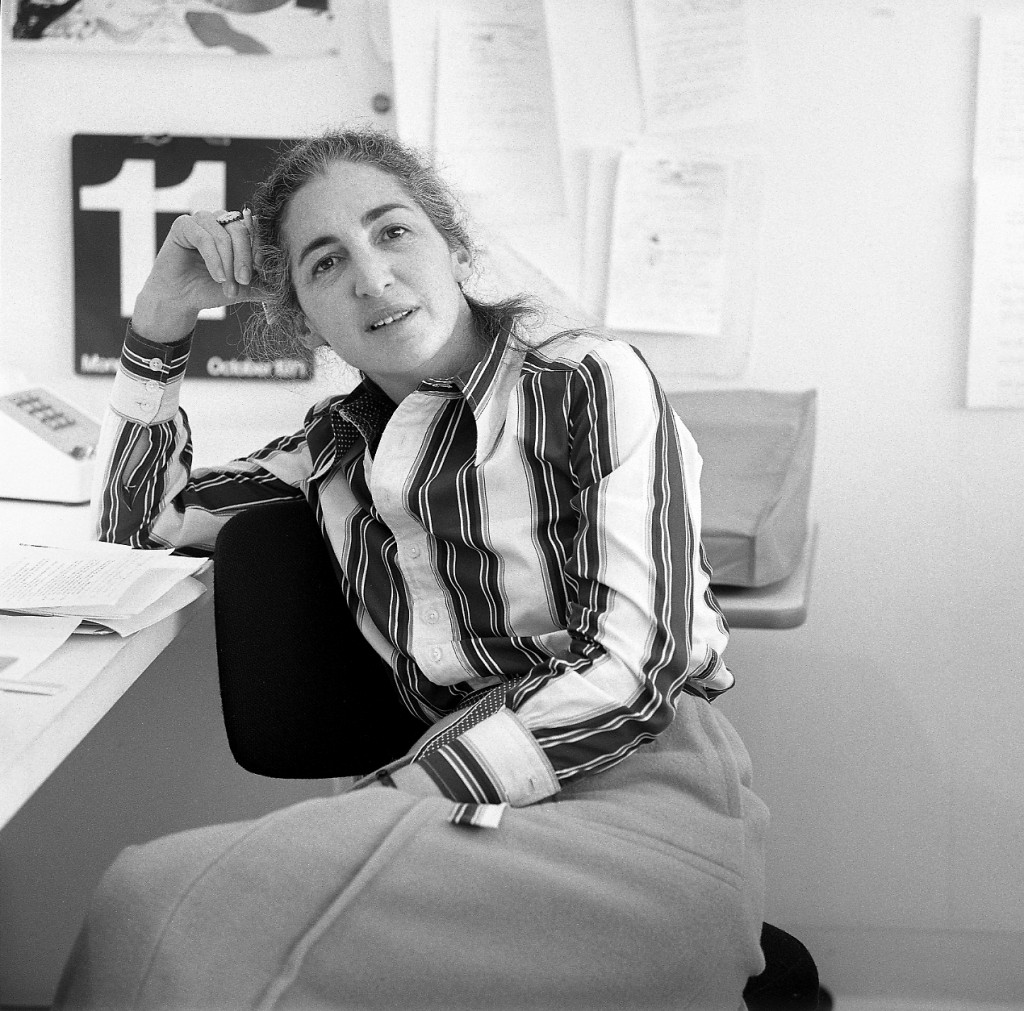 "Mildred ""Mickey"" Friedman in the Walker Design Studio, 1971"