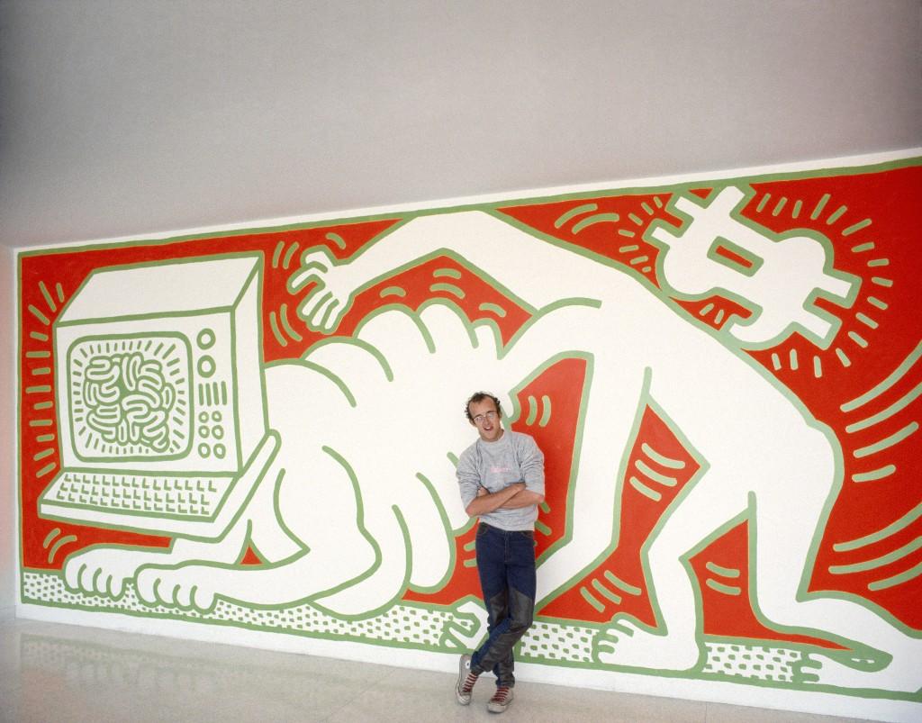 1984 Keith Haring_concourse_rpsu_W
