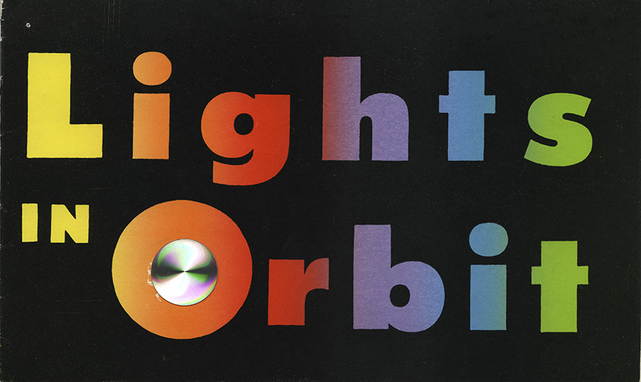 Cover of Lights in Orbit catalogue.