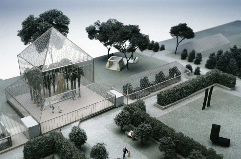 Cowles Conservatory, Final model for the Minneapolis Sculpture Garden, 1988
