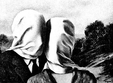 René Magritte, Les Amants (The Lovers), 1928