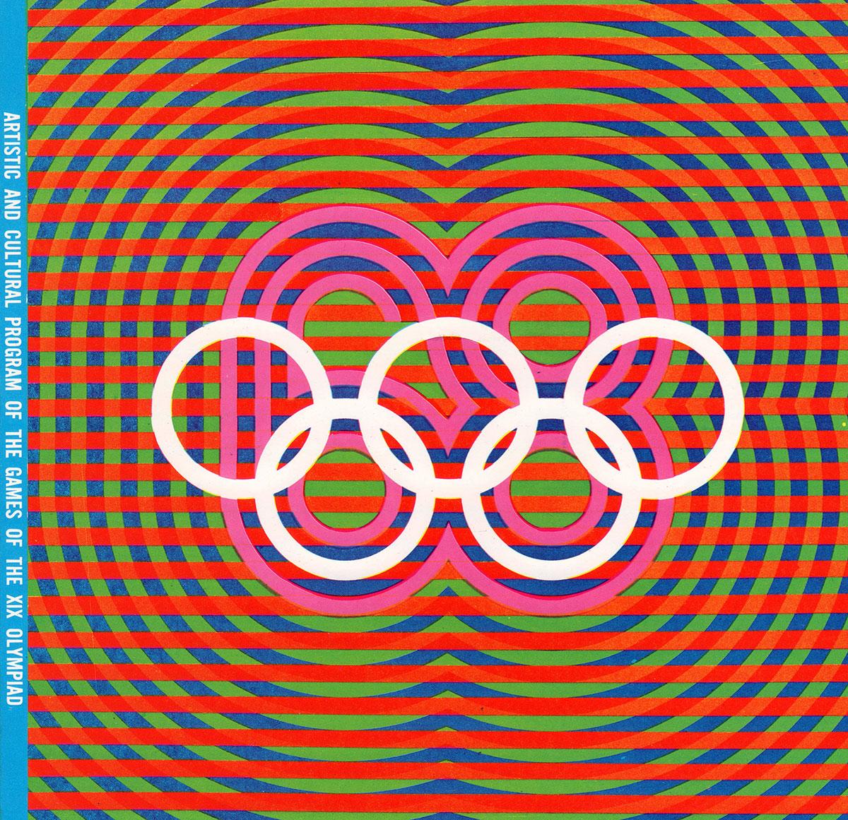 Wyman_Mex'68-CulturalProgramCover