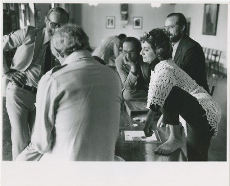 MRC photo : foot on table 1969