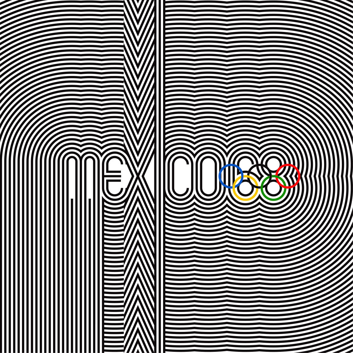 Wyman_Mexico_68_Olympics_radiating