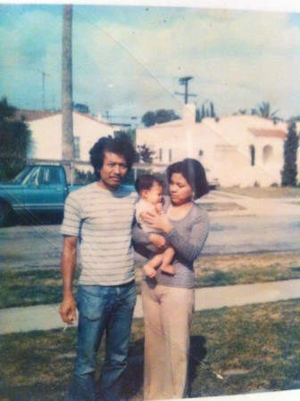 Jim, Kara & Cynthia Henson in The San Fernando Valley circa 1976