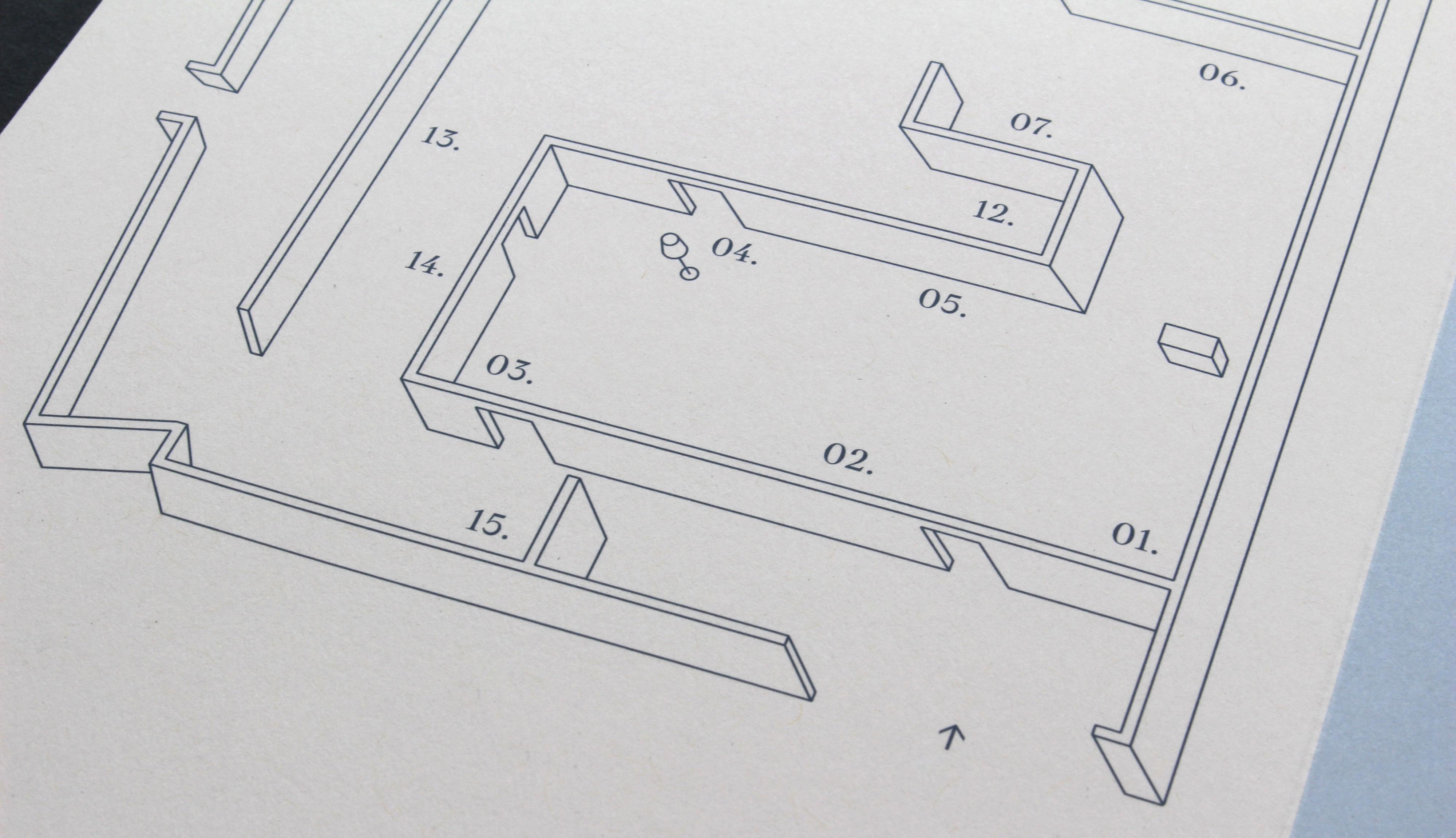 Details exhibition floor plan.
