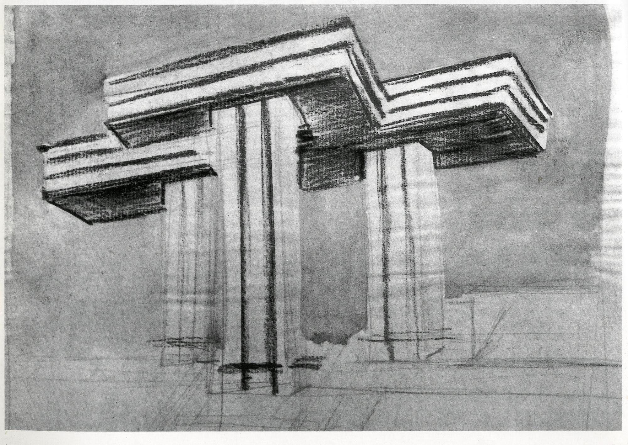 Horizontal Skyscraper El Lissitzky