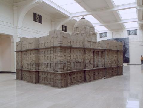 Huang Yong Ping's Bank of Sand, Sand of Bank