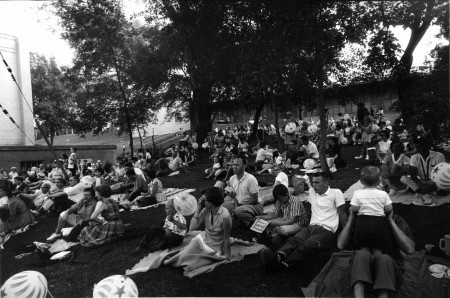 Walker Backyard, July 4, 1959 Courtesy Walker Art Center Archives