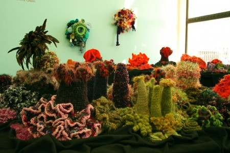 Hyperbolic Crochet Coral Reef Image courtesy The Institute For Figuring