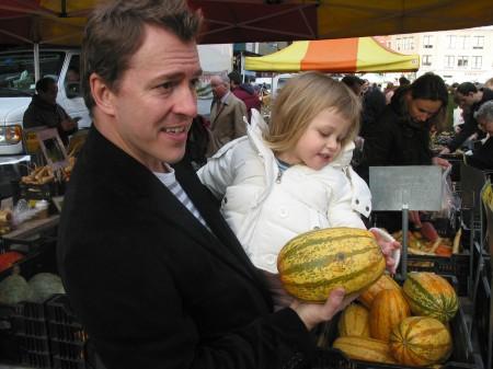 Colin at Market, photo courtesy Oscilloscope Laboratories
