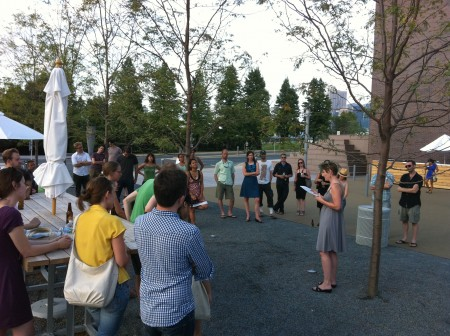 Twin Cities Runoff celebrates its launch at Open Field 2010