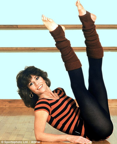 Jane Fonda aerobics. Photo Credit: sportsphoto ltd./allstar