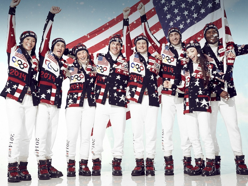 2014 Olympian Opening Ceremony Outfits. photo credit: Ralph Lauren