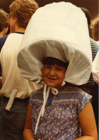 That adorable snapshot your dad took of you at a Walker event 33 years ago. Is this you? Let us know!
