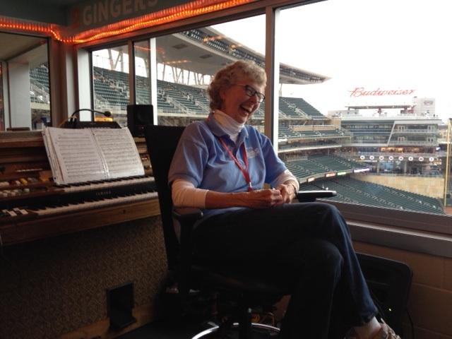 Sue Nelson talks about playing for the Twins.
