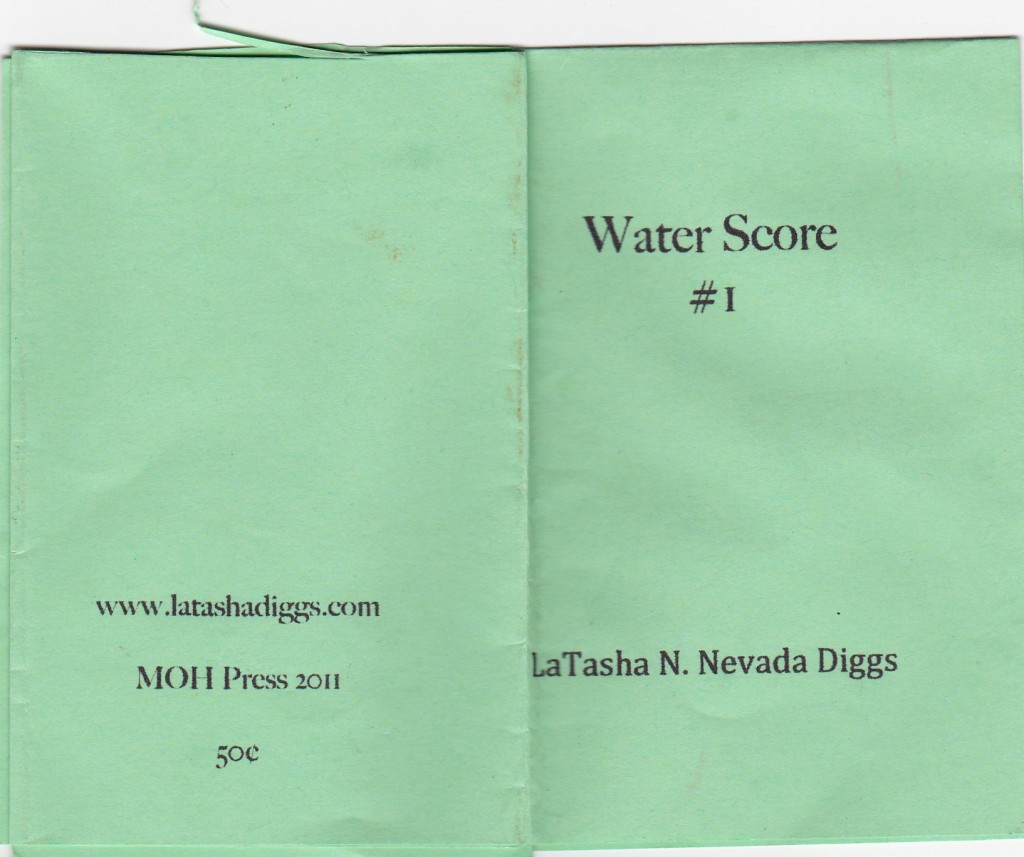 Water Score Front Back Cover