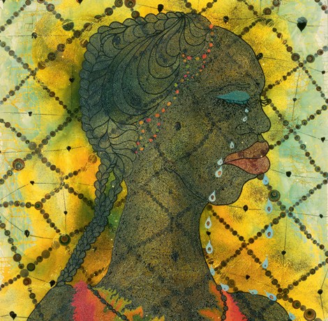 10_Chris Ofili:NO WOMAN NO CRY
