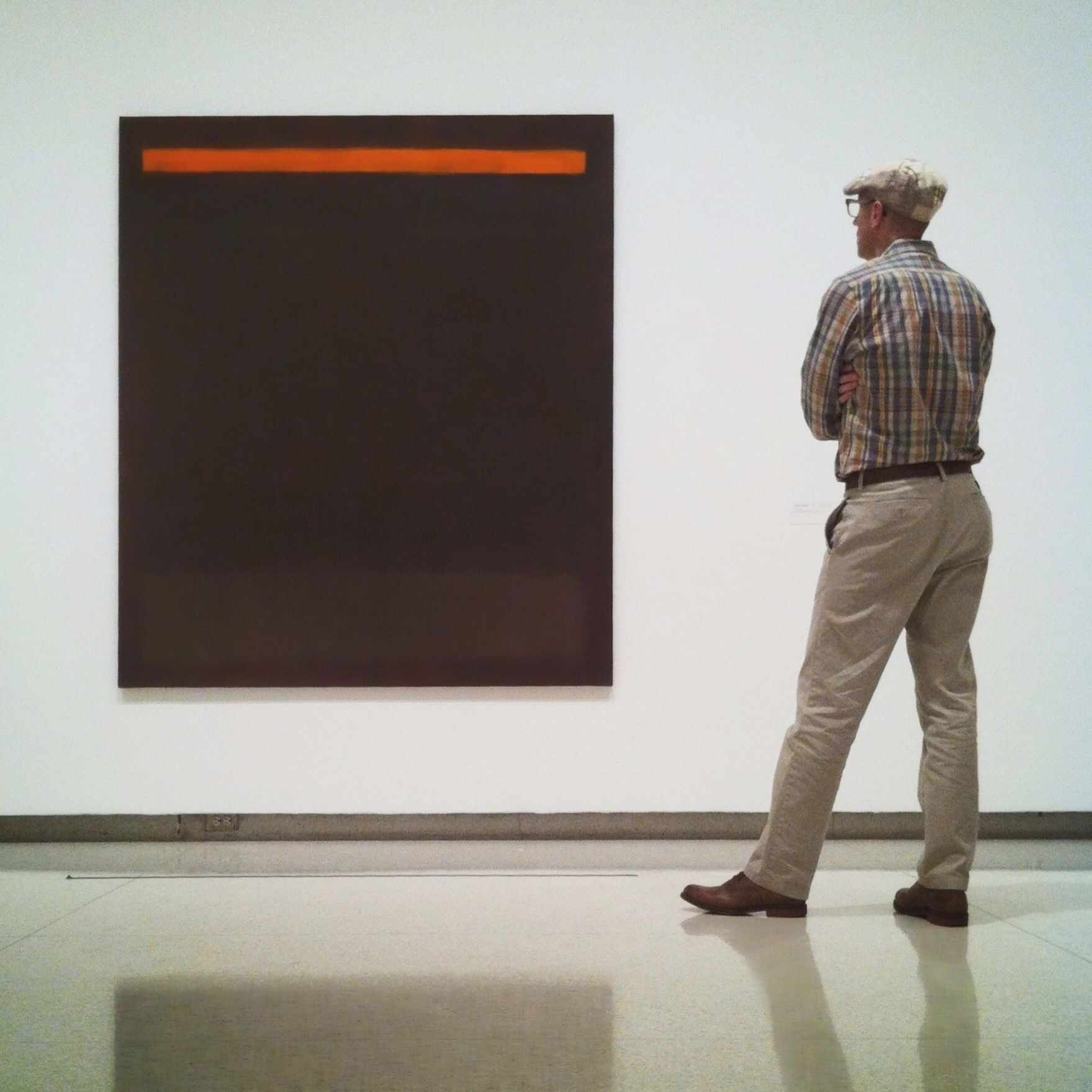 <i>Rothko and me</i>.  Submitted by Eric Mueller.