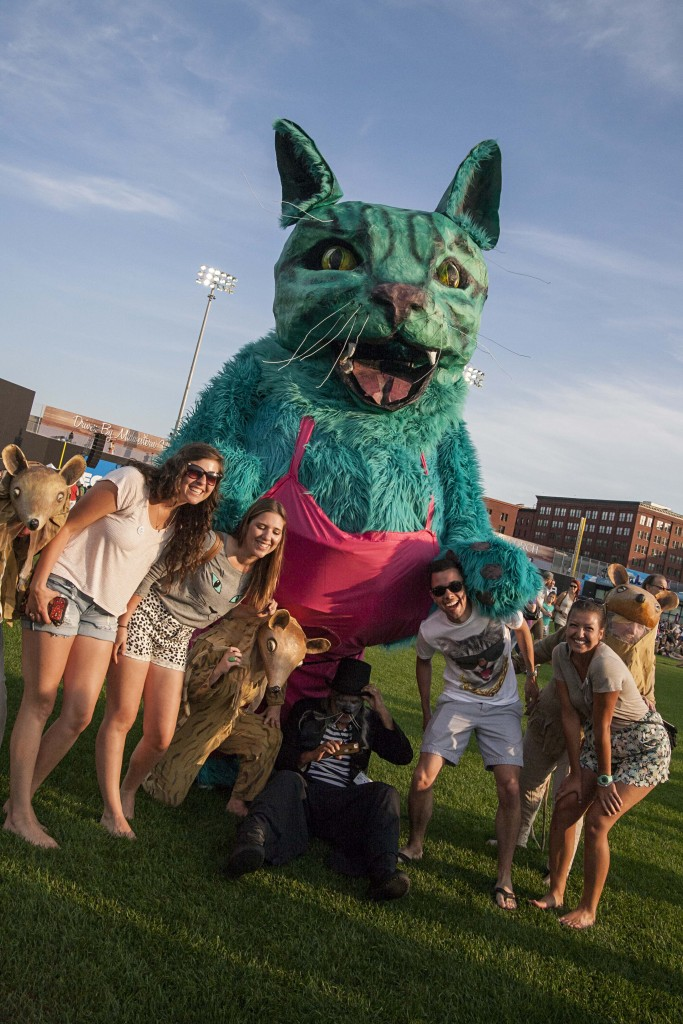 Internet Cat Video Festival, 8/12/2105, CHS Field, St. Paul, MN