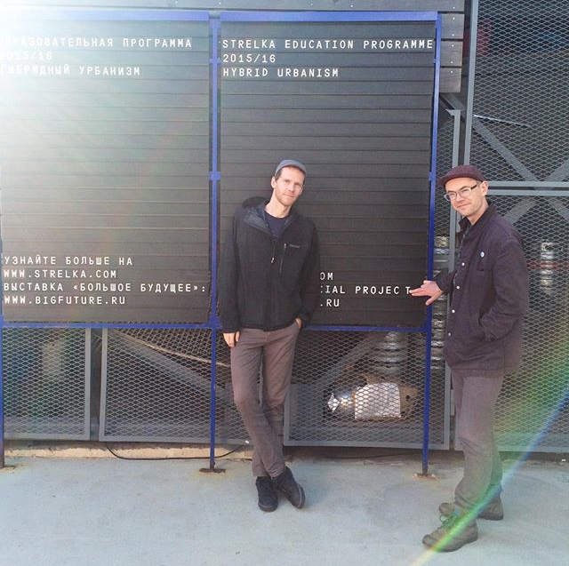 Extrapolation Factory duo Elliott Montgomery and Chris Woebken in Moscow, Russia