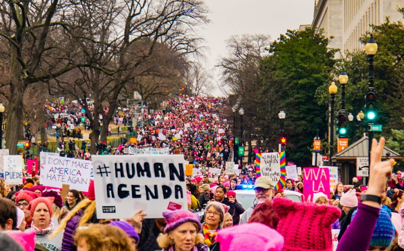 Women's March on Washington, 2017. Photo by Ted Eytan