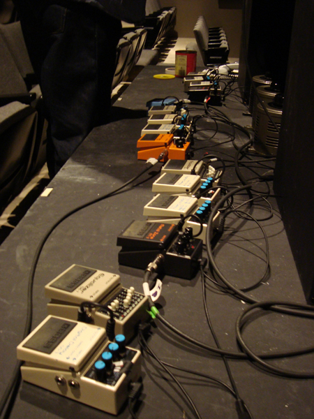 the effect pedal chain