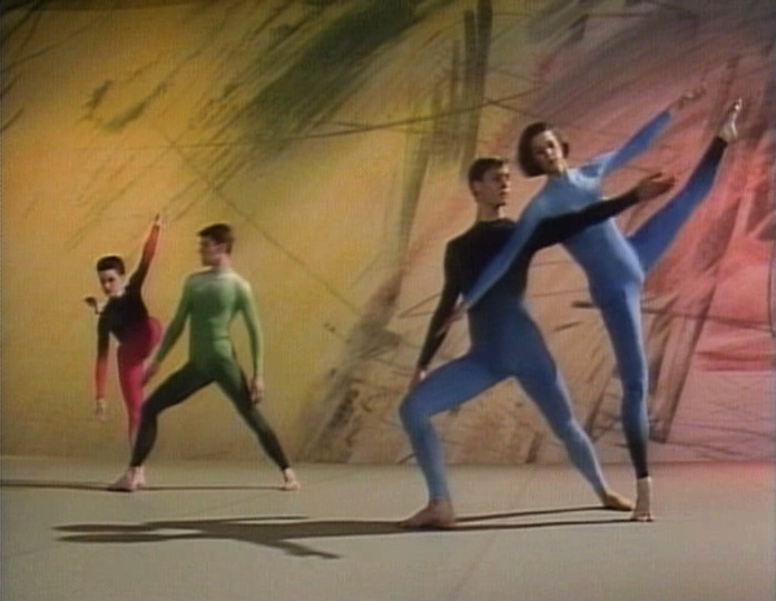 Merce Cunningham Dance Company, Points in Space, 1986, video