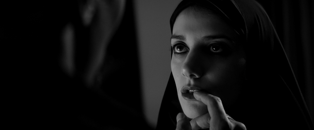 Ana Lily Amirpour's A Girl Walks Home Alone At Night. Photo courtesy Kino Lorber 2014