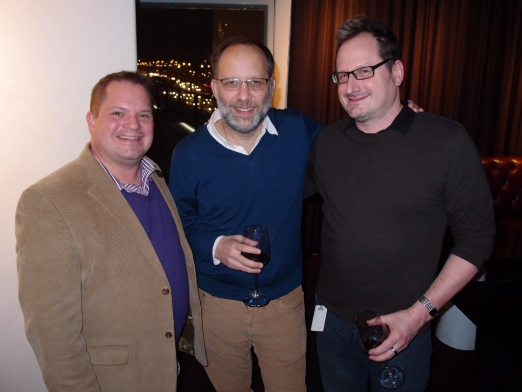 Jeffery Perkey, filmmaker Ira Sachs, and Dean Otto, program manager, Walker Film/Video