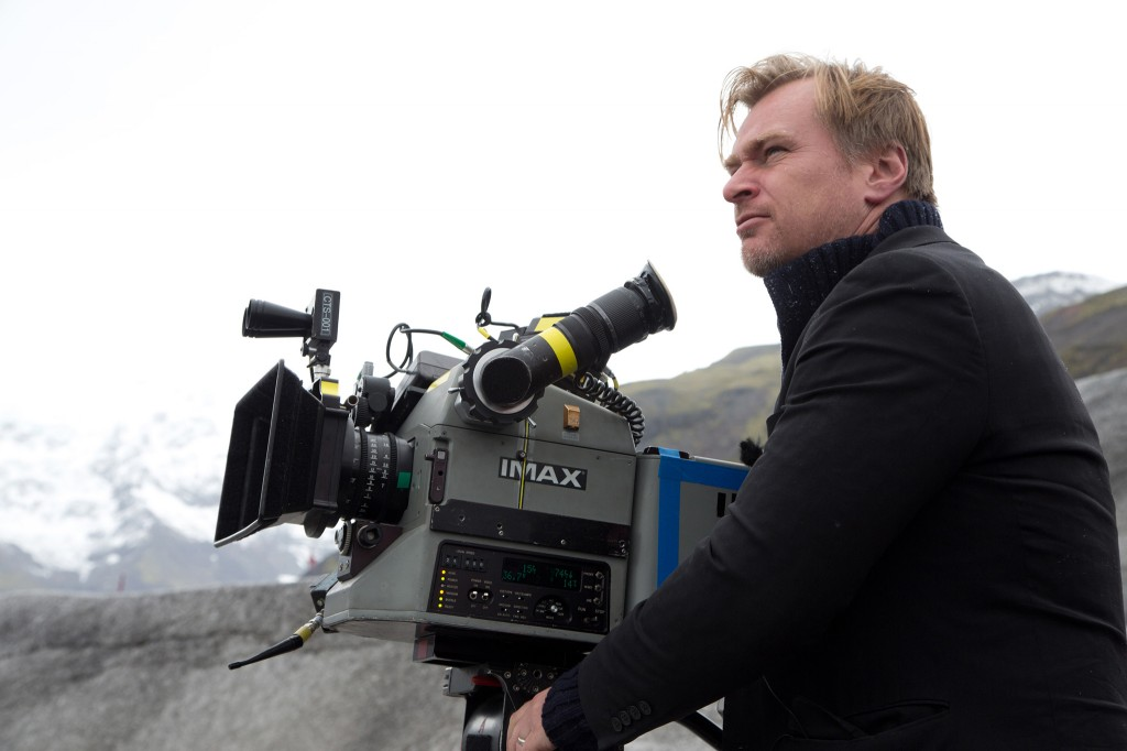 Christopher Nolan on the set of Interstellar, 2014. Photo courtesy Photofest ©Paramount Pictures