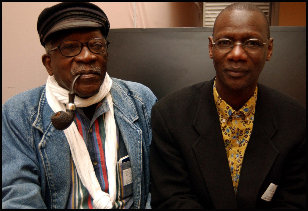 Samba Gadjigo and Jason Silverman's Sembene! 2015 Photo courtesy artist