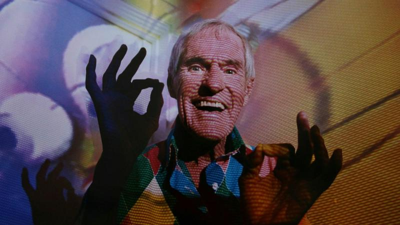 Gay Dillingham's Dying to Know: Ram Dass and Timothy Leary 2014 ©Dying to Know