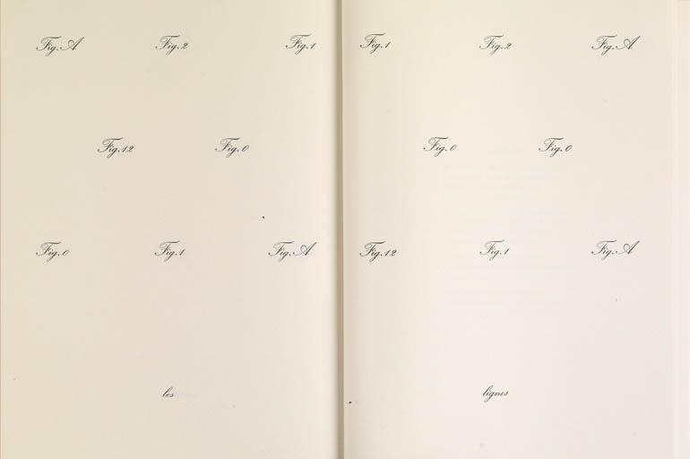 Marcel Broodthaers 'Je hais le mouvement qui déplace les lignes de Charles Baudelaire', 1973