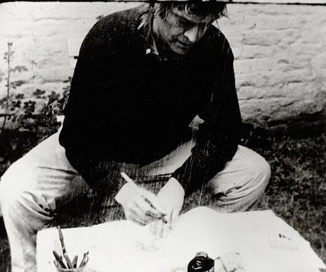 Marcel Broodthaers, La Pluie (Projet Pour Un Texte), 1969