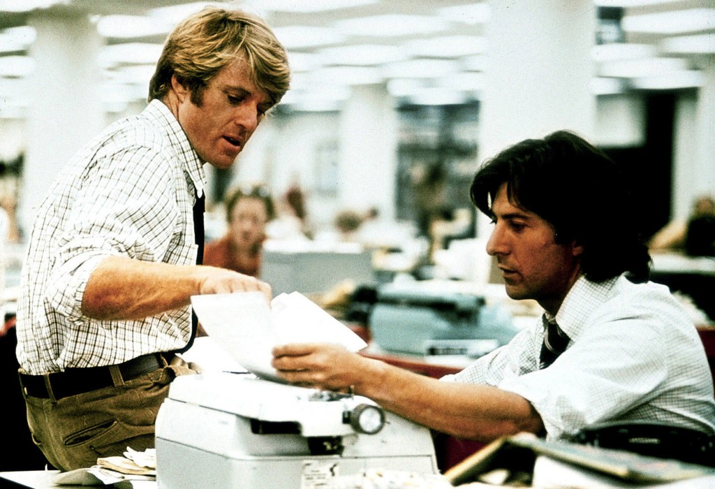 Alan J. Pakula's All the President's Men 1976 Photo courtesy Warner Bros/Photofest