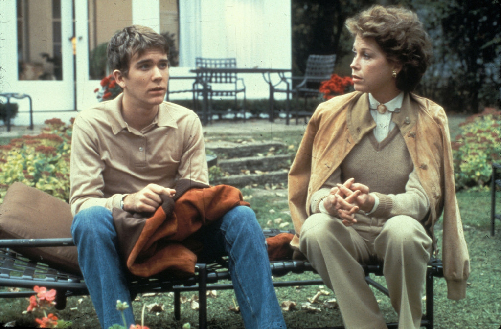 Ordinary People (1980) Directed by Robert Redford Shown: Timothy Hutton (as Conrad Jarrett), Mary Tyler Moore (as Beth Jarrett)