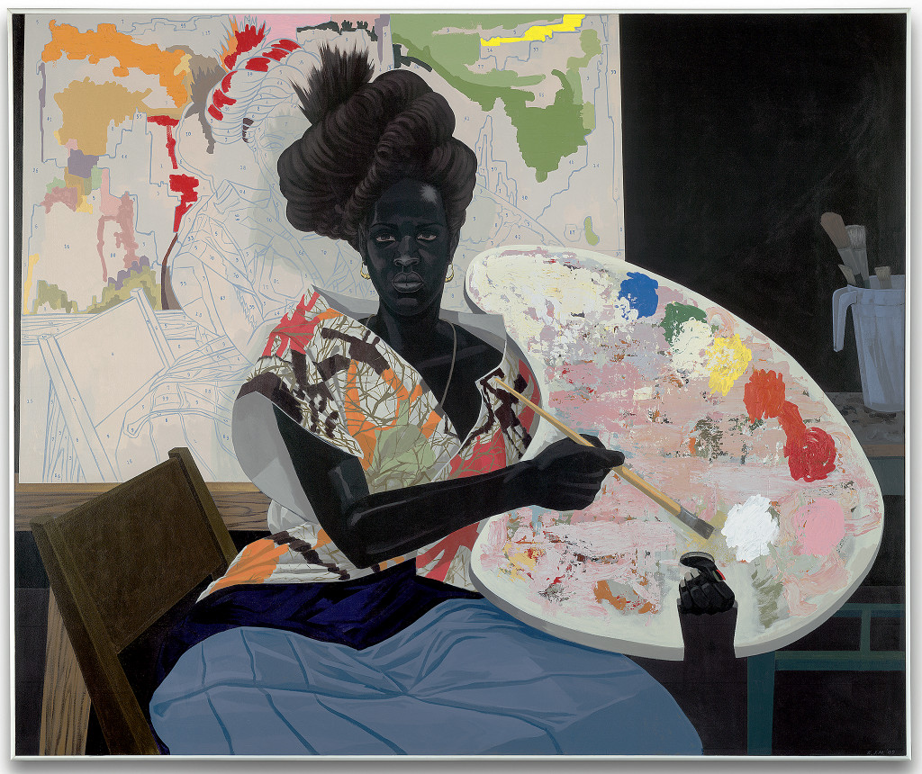 Kerry James Marshall, Untitled (Painter), 2009
