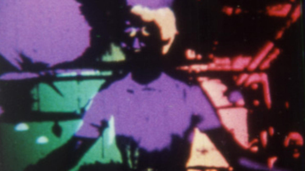 "Still from David Rimmer's ""Variations on a Cellophane Wrapper"" (197)0)"