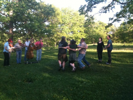 Square Dancing at the Park