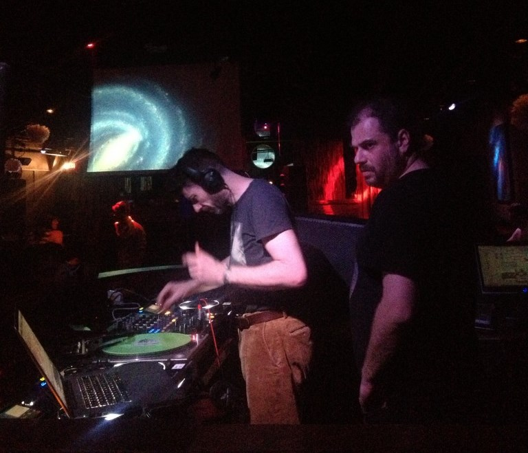 Scottish DJs Optimo at the Haven. Photo courtesy of the author.