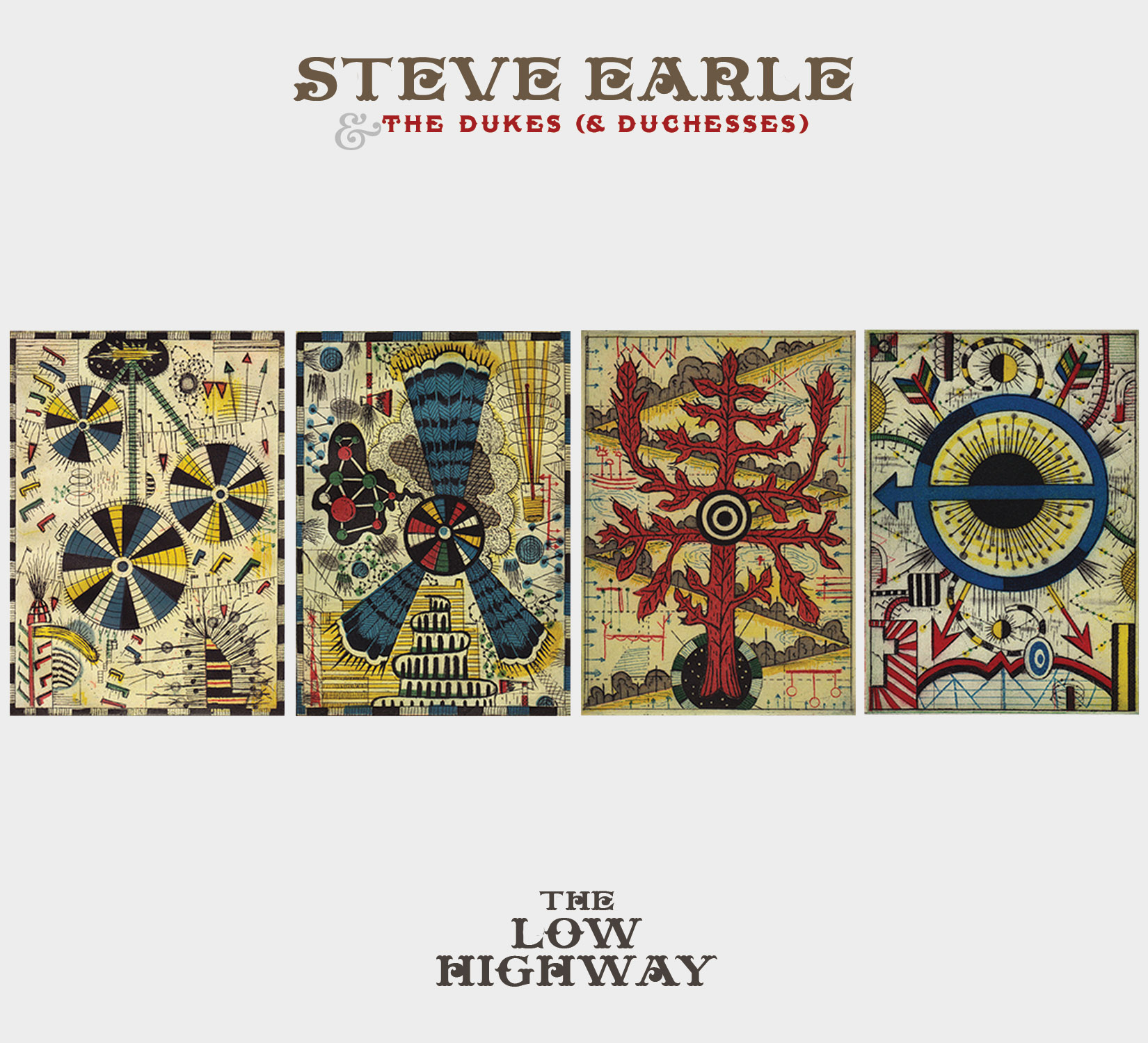 Album cover (with art by Tony Fitzpatrick) courtesy of steveearle.com